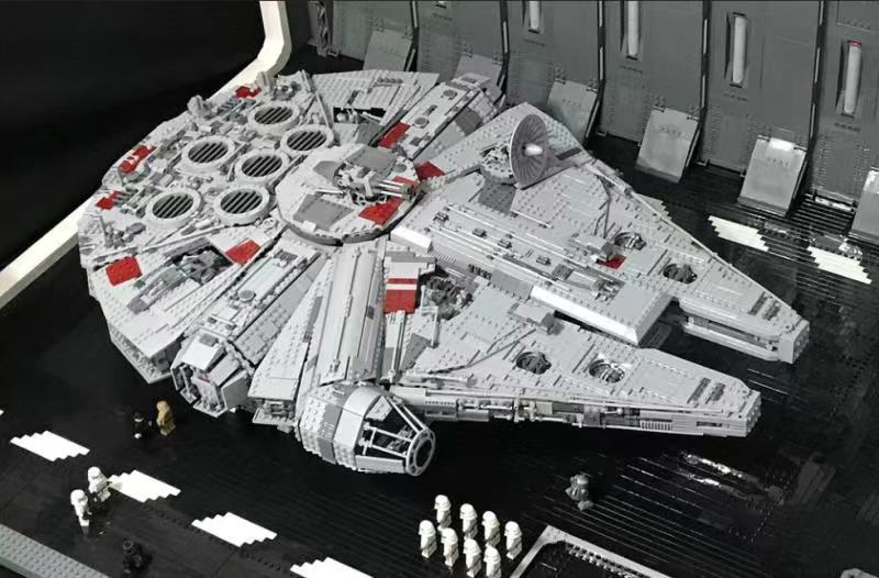 falcon apto starwars figuras técnicas