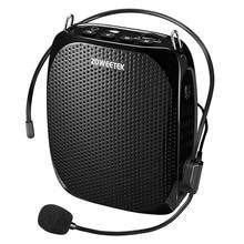 Zoweetek有線ミニオーディオスピーカーポータブル音声アンプナチュラルステレオサウンドマイクスピーカー教師のための音声