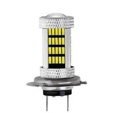 1 قطعة DC 12V H1 H3 H4 H7 H8 H11 9005 9006 4014 92 LED 6000K سيارة العارض الضباب القيادة ضوء لمبة الأبيض سيارة ضوء مصدر