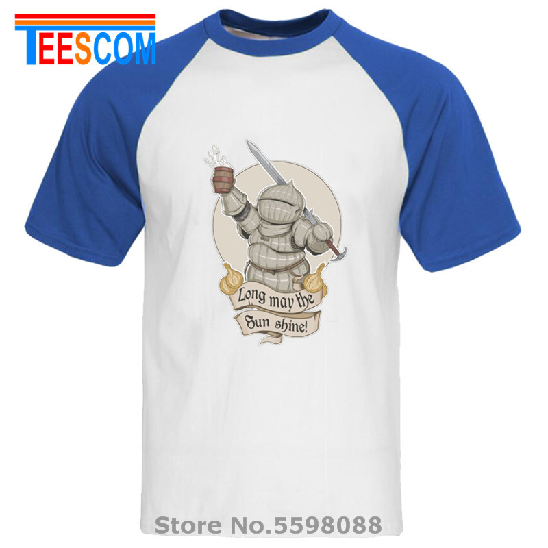 Raglan white blue