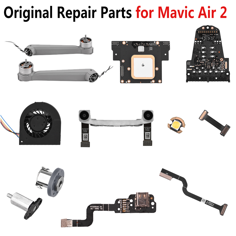 Original Repair Parts for <font><b>DJI</b></font> <font><b>Mavic</b></font> <font><b>Air</b></font> 2 Drone Accessories Left Right Rear Front Arm GPS Cable GPS Module Control <font><b>Board</b></font> Cable image