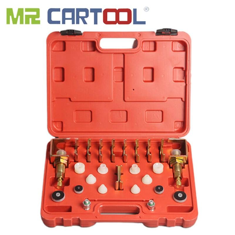 MR CARTOOL Universal Automobile Air Conditioning Leak Detection Leak Detector Tester With Test Adapter Kit Repair Tool