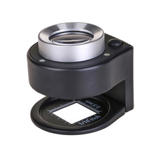 Beads Money-Counter for Led UV And Magnifier Stamp Appraisal 30-Times Light Scale Loupe