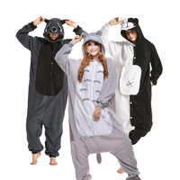 Large XXL Animal Pajamas Onesie Cartoon Kigurumi Women Onesies For Adults One-piece Pijamas Men Halloween Cosplay Funny Costume