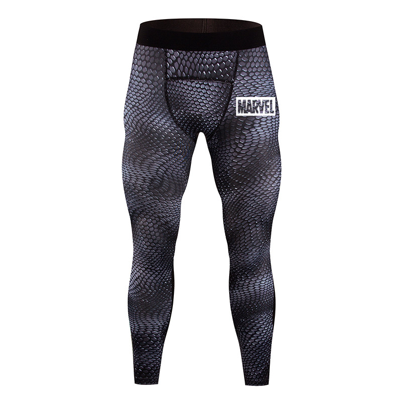 Men Sports Wear Tights Running pants men Compression trousers Bodybuilding Skinny Leggings Joggers Pants Fitness Yoga Pants|Running Pants| |  - title=