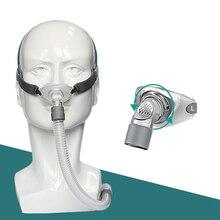האף כריות מסכת אור שינה מסכת עבור CPAP מכונות עבור אנטי נחירות COPD להתחבר צינור ופנים
