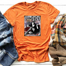 Женские футболки с графическим принтом the vampira винтажные