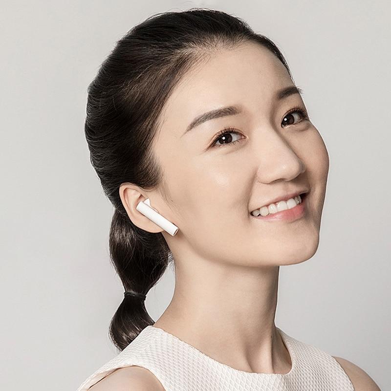 Original Xiaomi aire TWS auriculares Bluetooth 2 Airdots pro 2 Xiaomi inteligente de Control de voz LHDC HD sonido dinámico Tap Control ENC - 2