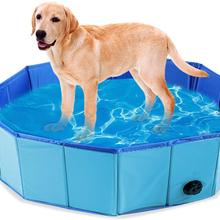 Dog Swimming Pool Foldable Pet Pool Bath Swimming Tub Bathtub Pet Collapsible Bathing