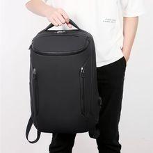Рюкзак большой емкости с двойным плечом и usb-портом для зарядки, Повседневная водонепроницаемая сумка на молнии для путешествий, бизнес-школы, студентов