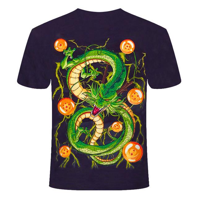 Dragon Ball Z Ultra Instinct Goku Super Saiyan Men Tshirt 3D Printed Summer Dragon Ball t shirt Funny Men Shirt Asian Size S-6XL