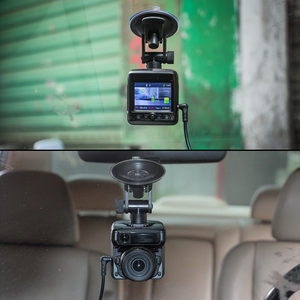 Image 4 - Ruccess araba dvrı Radar dedektörü GPS 3 in 1 Full HD 1296P 1080P Video kaydedici kamera çift lens Dash kamera Speedcam rus