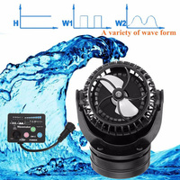 Magnet Base Flow Maker Aquarium Mini Intelligent Powerful Fish Tank Frequency Conversion Wave Pump Controllable Propeller Quiet