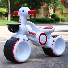 LazyChild Children's Music Light Car Balance Without Pedal Scooter Riding Walking Learning Scooter 1-3 Years Old Baby Toys