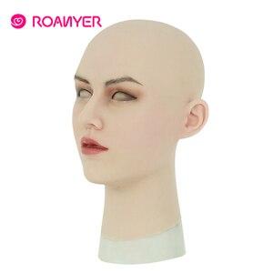 Image 5 - Roanyer May Masken Crossdresser Shemale Masken with Realistic Skin Silicone Masken for Transgender Male Drag Queen Cosplay