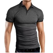 Polo-Shirt Golf-Wear Sweetshirts Sports Mens Summer Collar Stand Fitness Para Hombre