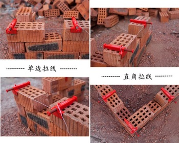 цена на Some countries package mail 2Pcs brickwork support line brickwork tool brickwork support line fixed equipment system structure