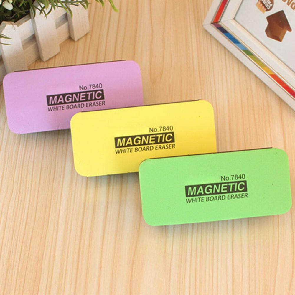 Deli 1Pc Color Blackboard Eraser Magnetic Whiteboard Whiteboard Eraser Creative Eraser Green Whiteboard Eraser S1I9