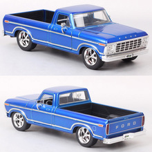 1/24 Scale Vintage Jada 1979 Ford F-150 Pickup Car F150 Raptor Truck Diecasts & Toy Vehicles Models Replicas For Kids Collection