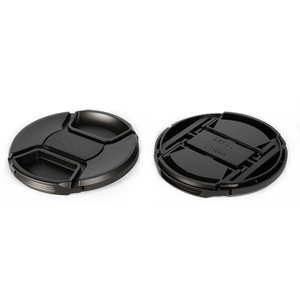 Image 5 - 30pcs/lot 49 52 55 58 62 67 72 77 82 86mm center pinch Snap on cap cover for canon nikon camera Lens with track number