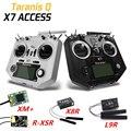 Радиопередатчик FRSKY ACCESS Taranis Q X7, 2,4 ГГц, 16 каналов, левая дроссельная заслонка, режим 2, радиопередатчик XM + R-XSR X8R, приемник для радиоуправляемы...