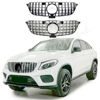 For Mercedes Benz Class GLE Coupe C292 Front Grill Bumper 2015 2016 2017 2018 GTR Black Silver