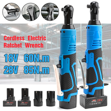 Removal-Screw-Nut Ratchet-Wrench Right-Angle Cordless Battery-Power-Tool 18V with 18V/28V