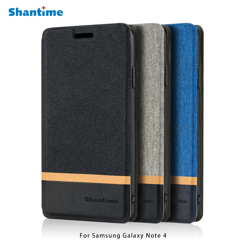 PU Leather Phone Bag <font><b>Case</b></font> For <font><b>Samsung</b></font> Galaxy <font><b>Note</b></font> <font><b>4</b></font> <font><b>Flip</b></font> <font><b>Case</b></font> For <font><b>Samsung</b></font> Galaxy <font><b>Note</b></font> <font><b>4</b></font> Business <font><b>Case</b></font> Soft Silicone Back Cover image