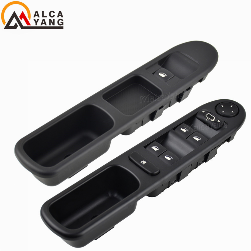 YAOPEI 6554.KT Driver Side Electric Master Control Window Switch for 307 307CC 307SW