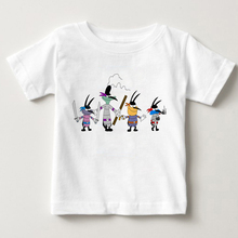 2019 French Cartoon Digital Printing Oggy and The Cockroaches Childrens Summer T-shirt Boys Girls Short Sleeved T Shirts MJ