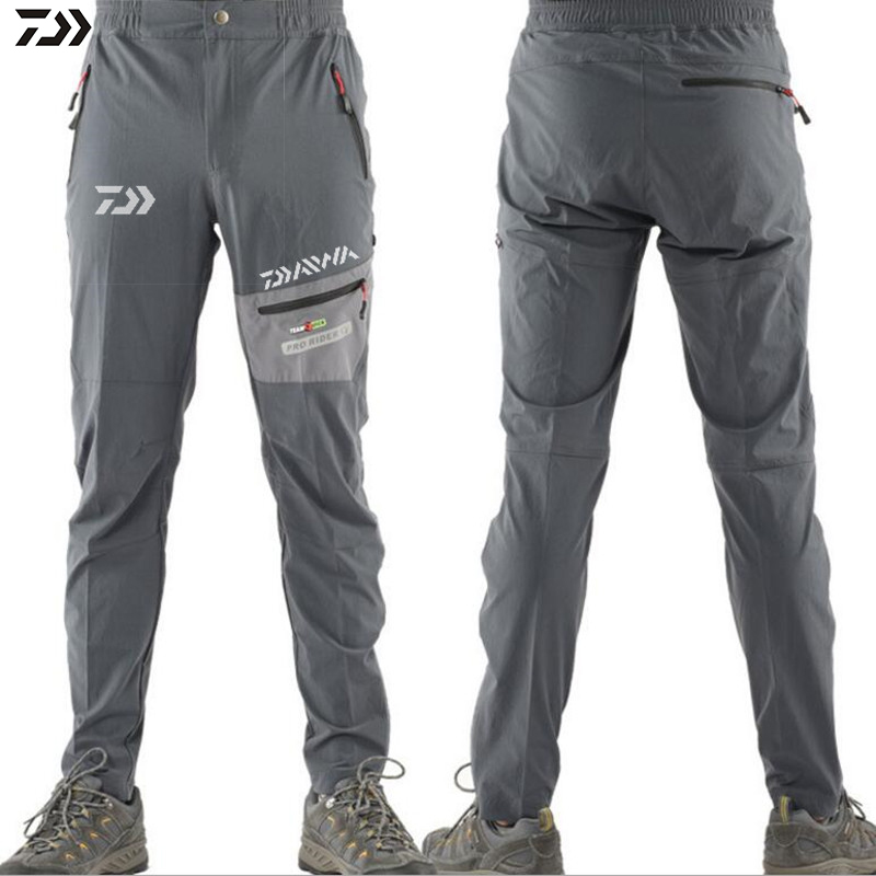 Daiwa New Fishing Pants Men Outdoor Hiking Breathable Cycling Trousers Men's Uv Protection Sports Camping Fishing Pants 2019