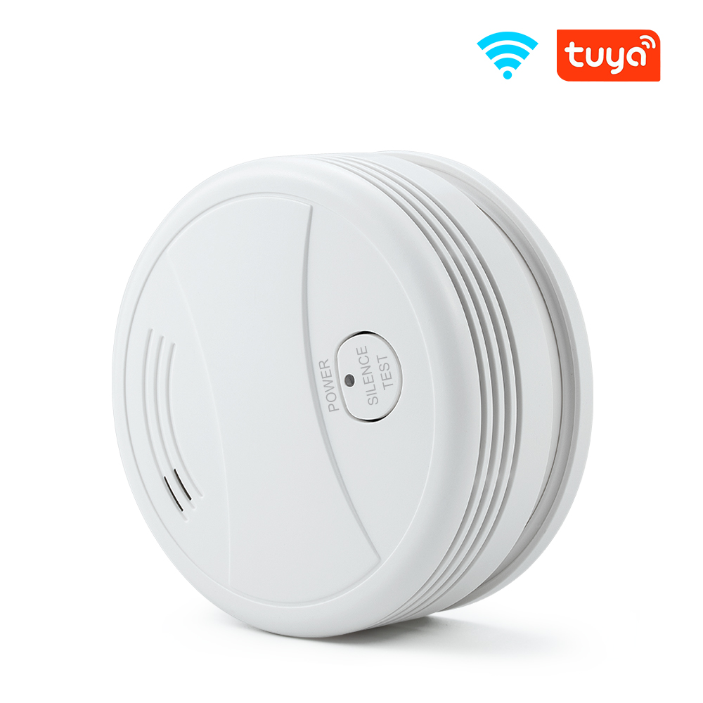 WIFI Smoke detector Tuya APP Wireless Fire Protection Alarm Sensors For Smart home Security Alarm System Networking Notice