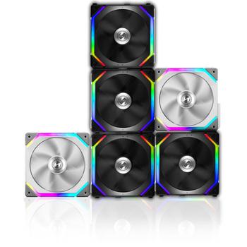 LIANLI UNI SL120-3W wentylator łatwy montaż 5V 3PIN ARGB 1 zestaw 3 szt W zestawie kontroler również obsługa sterowania płytą główną czarny biały tanie i dobre opinie bykski Rohs CN (pochodzenie) Komputer przypadku INTEL AMD 3 6 W Fluid Łożyska 50000 godzin 1900 rpm 23dBA RGB Wsparcie