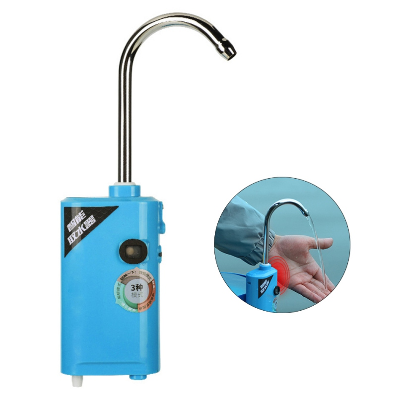 Outdoor Portable Oxygen Pump Small Three-In-One Induction Charging Pumping Oxygen Pump Fishing Oxygenation  Fishing Tools
