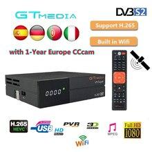 Satellite TV Receiver Best 1080P DVB-S2 GTmedia V9 Super Support EPG Built-in WIFI module CCcam Cline Spain