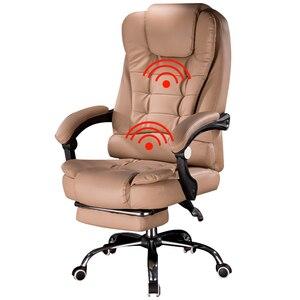 Image 2 - Silla de oficina ergonómica con reposapiés, oferta especial