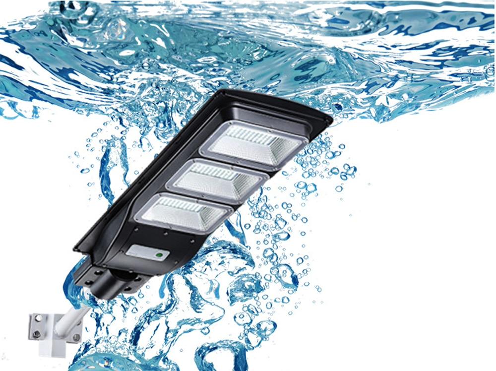 20W 40W 60W Solar Straße Licht 15000mAH PIR Motion Sensor Wasserdichte LED Straße Lampe Parkplatz lichter für Garage Terrasse Garten