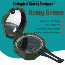 компас Военный Многофункциональный циркуль флуоресцентный геологический