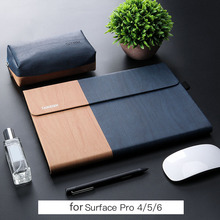 Новая ударопрочная сумка для ноутбука microsoft surface pro 6 5 4 Чехол Сумка для женщин и мужчин планшет рукав 12 дюймов для surface pro рукав подставка