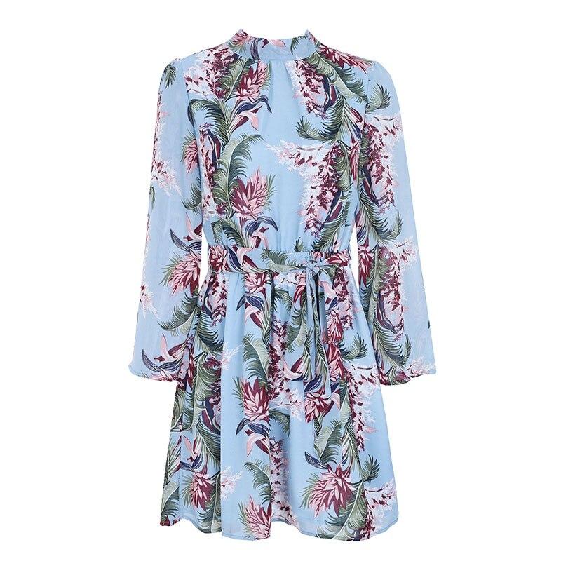 Женское шифоновое платье с принтом элегантное соблазнительное