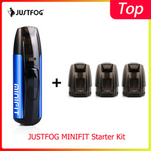 Original JUSTFOG MINIFIT Starter Kit 370mAh built-in Battery with 1.6ohm 1.5ml Pod cartridge Electro