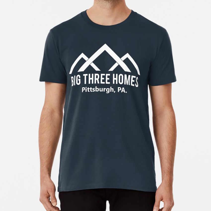 Big Drei Häuser (Weiß)-diese Ist Uns T-shirt Dieses Ist Uns Große Drei Große Drei Häuser Jack Pearson Rebecca Pearson Kate