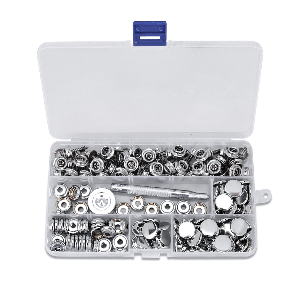 Fastener Screw Snaps Marine Socket with Screws Setting Tool for Boat Canvas