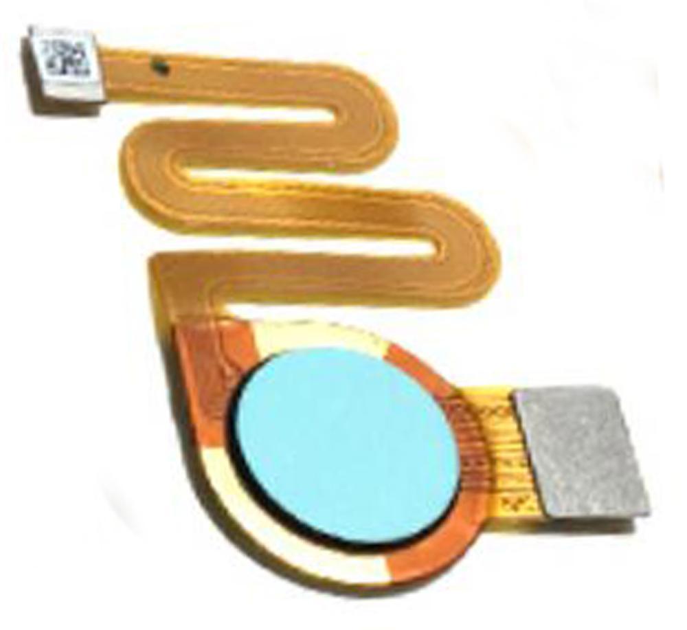 Новый отпечатков пальцев Сенсорный Сенсор кнопка Home, Return в сборе с гибким ленточным кабелем для ZTE лезвие V9 / V9 Vita