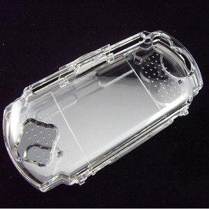 Image 2 - Прозрачный жесткий чехол, защитный чехол для Sony PlayStation Portable PSP 2000 3000, прозрачная защита корпуса консоли