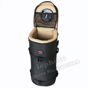 Image 5 - Thick Strong Telephoto Lens Pouch Bag Case for Tamron & Sigma 150 600mm 150 600 Nikon 200 500mm 300mm Canon 300mm F4 Camera Lens