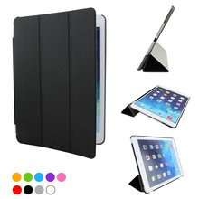 цена на Foldable Smart Magnetic Case Cover For Ipad Air 9.7 Inch Case A1474 A1475 A1822 A1823