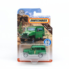 MATCHBOX City Hero Car Collector's Edition Jep Willis '62 JEP WILLYS toys for Childen Collect gifts