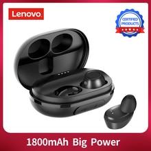 Dropshipping Lenovo S1 TWS kablosuz Bluetooth kulaklık su geçirmez IPX5 gerçek kablosuz Stereo müzik spor kulaklık mikrofon ile