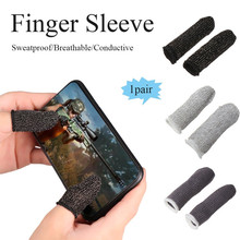 1 Pair L1 R1 Pubg Triger Breathable Mobile Game Controller Finger Sleeve Touch Trigger Gatilho Pubg Gatillos Para Celular Pubg cheap for nintendo switch for mega drive for playstation4 Apple iPhone iPhone 3G 3GS iPhone 4 IPHONE 4S iPhone 5 IPHONE XR IPHONE XS MAX